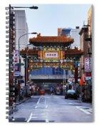 Chinatown - Philadelphia Spiral Notebook