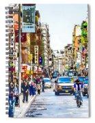 Chinatown In New York City 2 Spiral Notebook