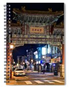 Chinatown In Philadelphia Spiral Notebook