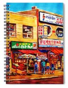 Chinatown Markets Spiral Notebook