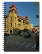 Chinatown Scene Spiral Notebook