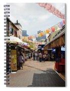 Chinatown Street Spiral Notebook