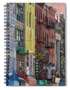 Chinatown Walk Ups Spiral Notebook