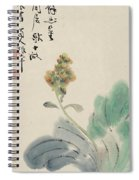 Chinese Cabbage Spiral Notebook