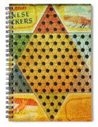 Chinese Checkers Spiral Notebook