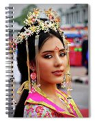 Chinese Cultural Fashion Girl Spiral Notebook