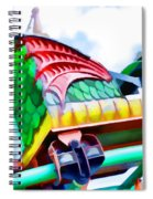 Chinese Dragon Ride 4 Spiral Notebook