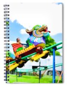 Chinese Dragon Ride  5 Spiral Notebook