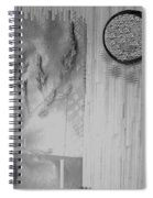 Chinese Garden Spiral Notebook
