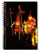 Chinese Lantern Festival British Columbia Canada 9 Spiral Notebook
