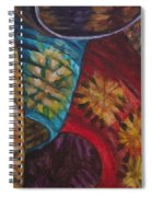 Chinese Lanterns Spiral Notebook