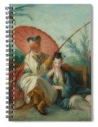 Chinese Motif Spiral Notebook