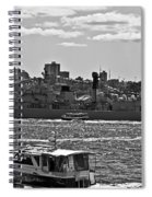 Chinese Navy Ship Qingdao Ddg 113 Spiral Notebook
