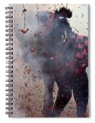 Chinese New Year Action Spiral Notebook