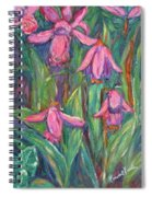 Chinese Orchids Spiral Notebook