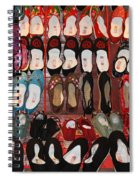 Chinese Slippers Spiral Notebook