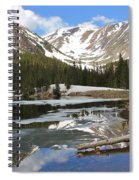 Chinns Lake Reflections 3 Spiral Notebook