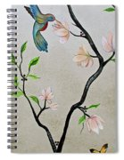 Chinoiserie - Magnolias And Birds #5 Spiral Notebook