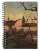 Chinook Burial Grounds Spiral Notebook