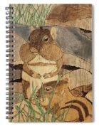 Chipmunk Lunch Spiral Notebook