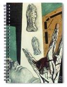 Chirico: Arch, 1914 Spiral Notebook