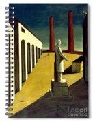 Chirico: Enigma, 1914 Spiral Notebook