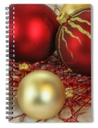 Chirstmas Ornaments Spiral Notebook