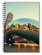 Chitown Bean Spiral Notebook