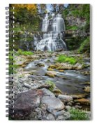Chittenango Falls In Autumn  Spiral Notebook