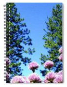 Chives Alive Spiral Notebook