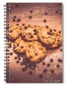 Choc Chip Biscuits Spiral Notebook