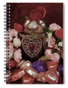Chocolate And Romance Spiral Notebook