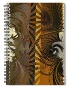 Chocolate Center Spiral Notebook