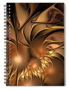 Chocolate Essence Spiral Notebook