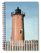 Chocolate Lighthouse Spiral Notebook