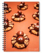Chocolate Peanut Butter Spider Cookies Spiral Notebook