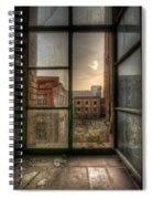 Chocolate Sunset Spiral Notebook