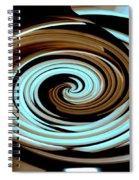 Chocolate Swirls Spiral Notebook