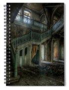 Chocolate Villa Hallway Spiral Notebook