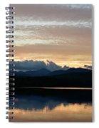 Chocorua At Sunset 2 Spiral Notebook