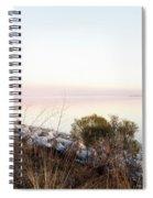 Choctawhatchee Bay Sunset Spiral Notebook