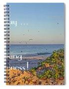 Choices - Inspirational Spiral Notebook