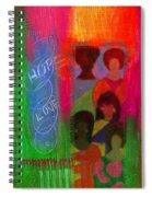 Choir Girls Spiral Notebook