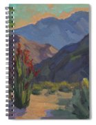 Cholla At Smoketree Ranch Spiral Notebook