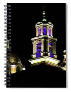 Cholula Church Spiral Notebook