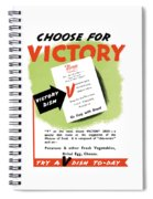 Choose For Victory -- Ww2 Spiral Notebook