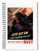 Choose The Navy -- Ww2 Spiral Notebook
