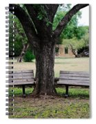 Choose Your Bench Spiral Notebook