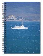 Choppy Drake's Bay Spiral Notebook