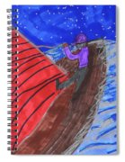 Choppy Waters Spiral Notebook
